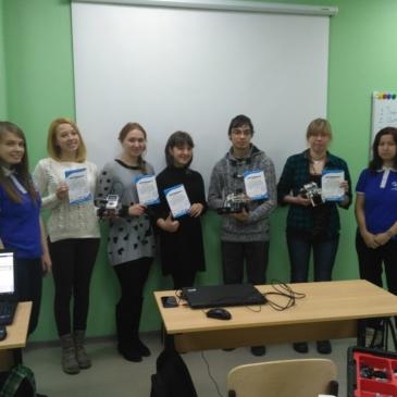 В январе в Иркутске прошла школа преподавателей Лиги Роботов