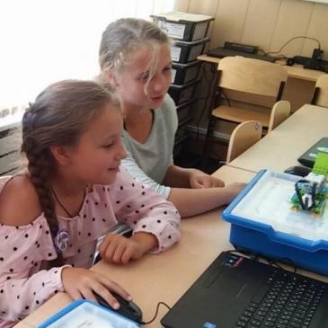В последние летние выходные в Лиге Роботов прошли очередные мастер-классы