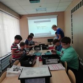 22-23 сентября в Иркутске начался осенний семестр в Лиге Роботов