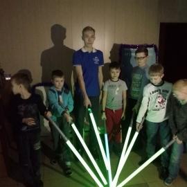 Мастер-классы по созданию своего меча Джедая прошли 20 и 22 декабря